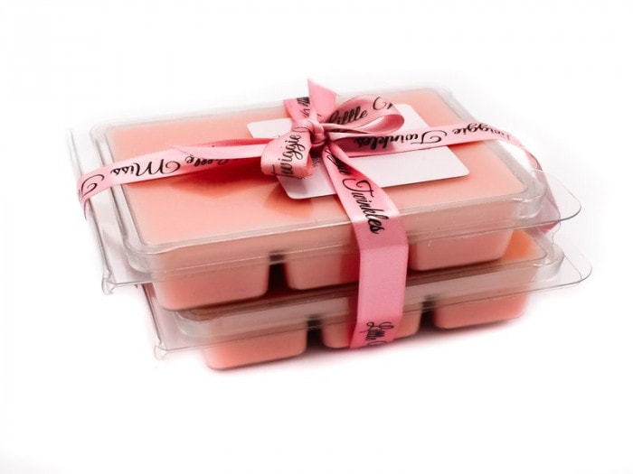 Wax melts inspired by Jo Malone Peony and Blush Suede.