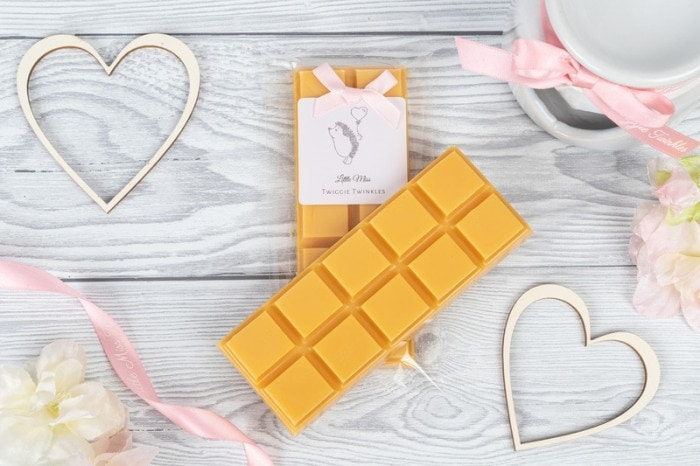Orange Blossom inspired snap bars A vibrant citrus floral fragrance where notes of sweet mandarin combined with orange blossom and jasmine