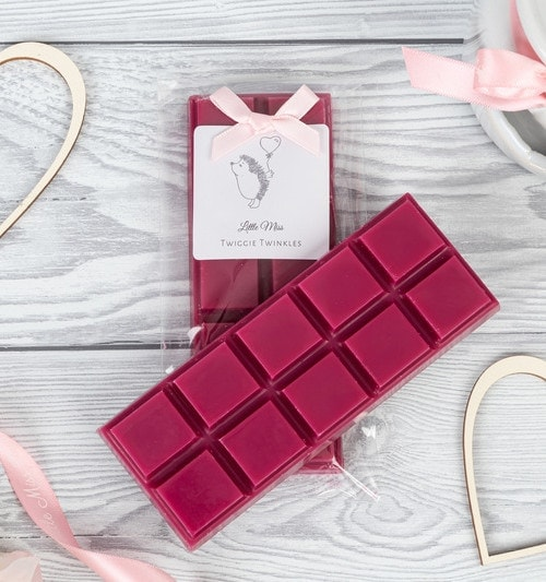 Gucci Rush inspired wax melt snap bars by Little Miss Twiggie Twinkles